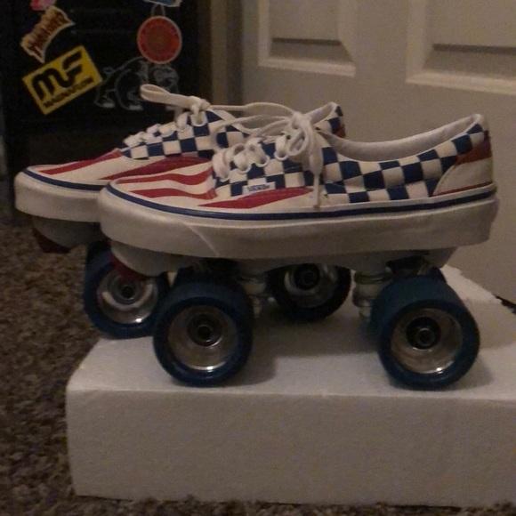 custom vans skate